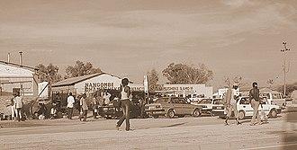 Mwenezi District - A scene at Rutenga, along the highway between Masvingo and Beitbridge, 2006