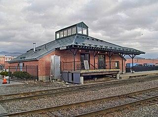 Rutland station Railroad station in Rutland, Vermont, United States