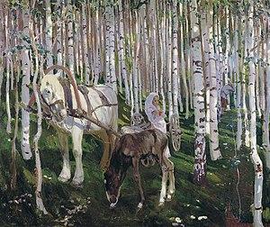 Arkady Rylov - Image: Rylov AA V Lesu 115x 138 KIR