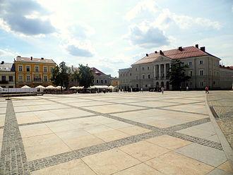 Świętokrzyskie Voivodeship - Kielce is the capital of the voivodeship