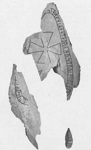 Italy runestones - Runestone Sö Fv1954;22