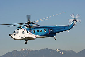 Sikorsky S-61 - HeliJet's S-61N at Vancouver International Airport