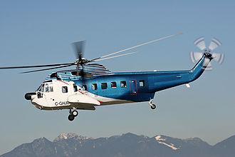 Sikorsky S-61 - HeliJet's S-61N at Vancouver International Airport