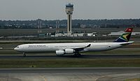ZS-SNI - A346 - South African Airways