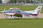 SAN Jodel D.150A Mascaret 'G-CGMH' (26916743247).jpg