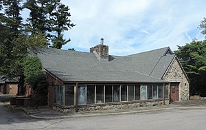 Saw Mill River Parkway - Former restaurant, served early motorists