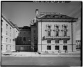 SOUTHEAST SIDE OF MEMORIAL HALL - U.S. Naval Academy, Bancroft Hall, Annapolis, Anne Arundel County, MD HABS MD,2-ANNA,65-2-33.tif