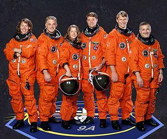 Crew - Crew of a spacecraft.