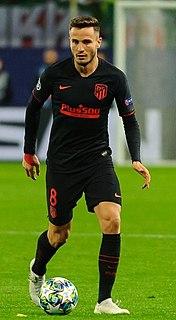 Saúl Ñíguez Spanish footballer