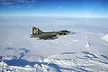 Saab JAS-39 Gripen of the Czech Air Force inflight over Iceland (1).jpg