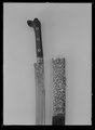 Sabel, yatagan, Algeriet, 1700-talets slut - Livrustkammaren - 19107.tif