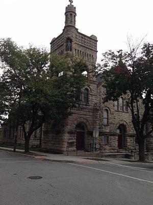 Sacred Heart Church, School and Rectory - Sacred Heart Church, Kansas City, MO