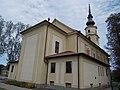 Sacred Heart Church from Route 2, 2016 Dunakeszi.jpg