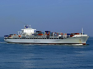 Safmarine Nokwanda p06 approaching Port of Rotterdam, Holland 20-May-2007.jpg