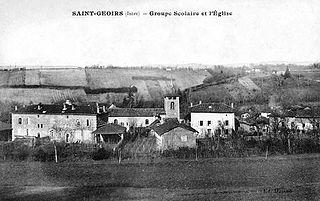 Saint-Geoirs Commune in Auvergne-Rhône-Alpes, France