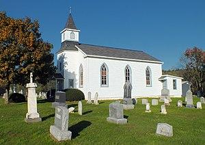 Windham Township, Wyoming County, Pennsylvania - Saint Anthony's Roman Catholic Church in the township