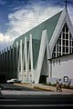 Saint Augustine Catholic Church located on Waikiki Beach in Honolulu in 1963.jpg