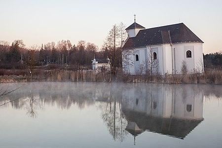 Saint Peter of Alcantara Church in Karviná-Doly (the Leaning Church)