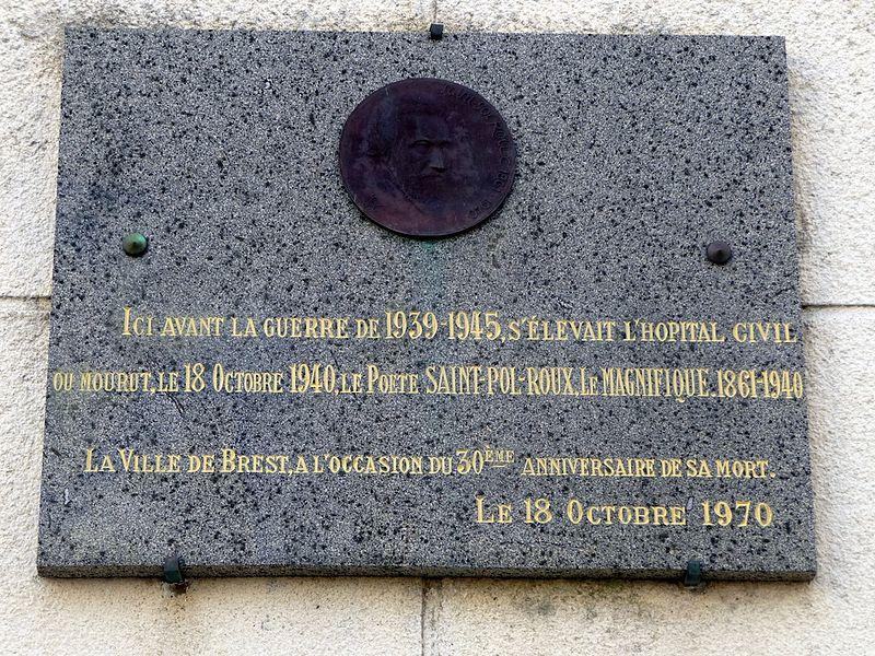 Chronologie de Brest 39/45 - Page 5 800px-Saint_Pol-Roux