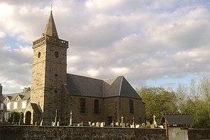 L'église Sainte-Pience.