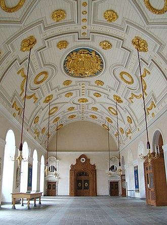 Parlement of Brittany - Image: Salle Des Pas Perdus