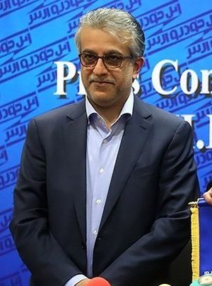 Salman Bin Ibrahim Al-Khalifa - Al-Khalifa in a press conference in Tehran