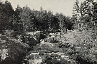 Salmon Falls River - Salmon Falls River c. 1903