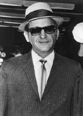 Organized crime - American Mafia mobster Sam Giancana