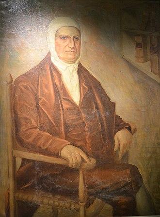 Samuel Doak - Portrait painting of Samuel Doak Sr