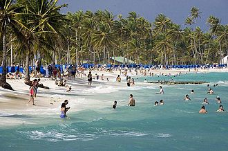 Caribbean - Beach in San Andrés, Colombia