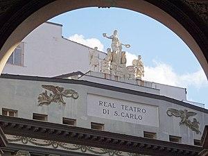 Teatro di San Carlo - Exterior of San Carlo Opera House