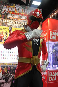 San Diego Comic-Con 2014 - Super Megaforce Red (14768401741).jpg
