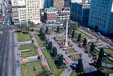 The Square In 1968 As Seen From St Francis Hotel