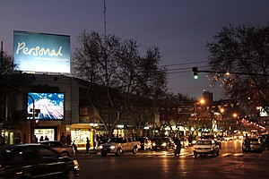 San Rafael, Mendoza - Image: San Rafael de noche
