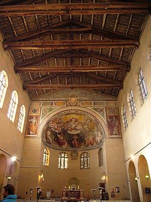 Santa Balbina - Image: San Saba santa Balbina interno 1000904