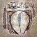 San remigio, fi, interno, stemma di bartolo d'antonio di segna.JPG