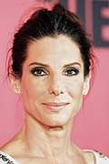 Photo of Sandra Bullock at the premiere of The Heat in 2013.