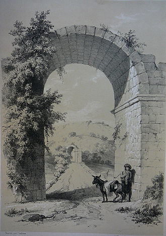 Procopius - Triumphal arch at the entrance to the Sangarius Bridge