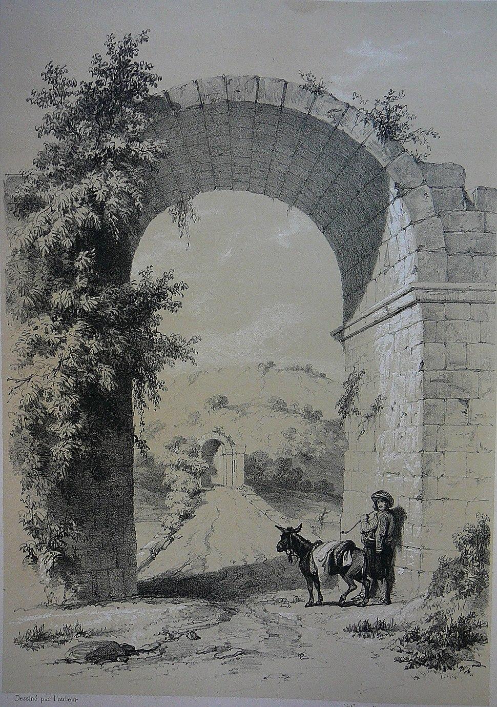 Sangarius Bridge. Drawing 01