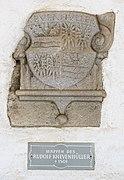 Sankt Georgen am Längsee Burg Hochosterwitz Wappen des Rudolf Khevenhüller 01062015 1146.jpg