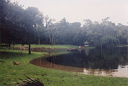 Flooding of Sanlando Springs after Hurricane Frances in 2004