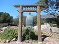Santa Barbara Vedanta Temple Bell (15231087055).jpg