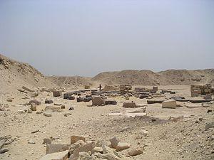 Pyramid of Userkaf - Image: Saqqarah Ouserkaf 02