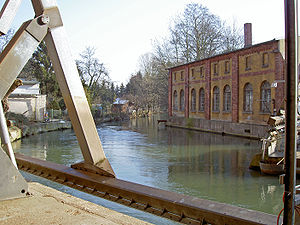 Innerste - The Innerste in Sarstedt.