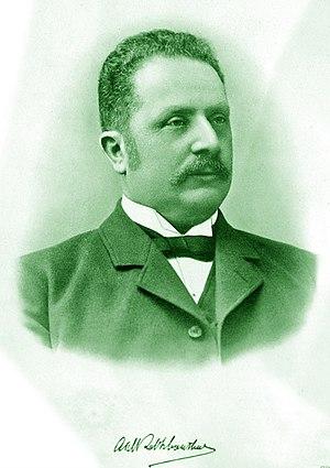 Hammarby Fotboll - Axel Robert Schönthal is credited as the founding force of Hammarby Roddförening.