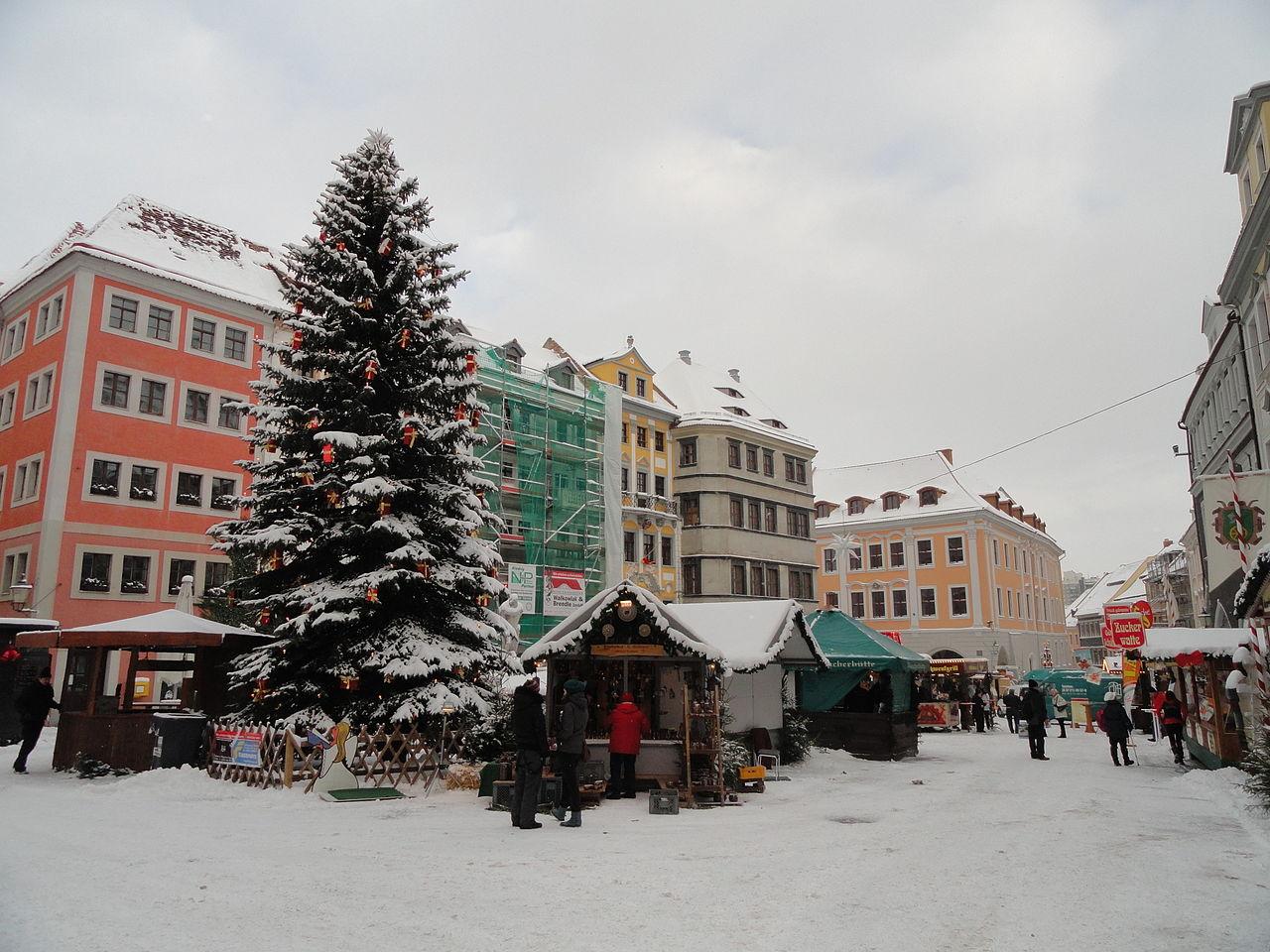 Schlesischer Christkindelmarkt Untermarkt Görlitz.JPG