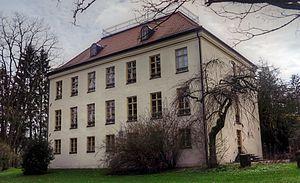 Schloss Fußberg - Image: Schloß Fußberg Rückseite