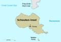 Schouten island map - de.png