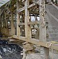 Schuur tijdens restauratie, gerestaureerd hout - Holset - 20330641 - RCE.jpg