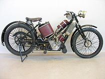 Scott Squirrel 500 cc uit 1923